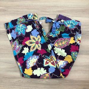 Nick & Nora colorful 100% cotton pajama bottoms